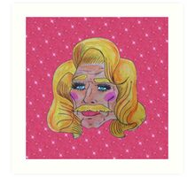 Butch Queen: First Time In A Lacefront Art Print