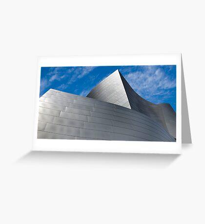 Walt Disney Concert Hall Greeting Card