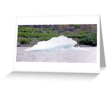 Ice Burg Greeting Card