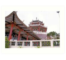 Taioest Temple - Cebu, Philippines Art Print