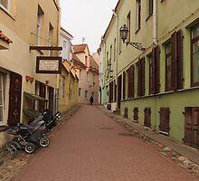 Old Town street. by miniailov