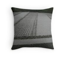 sand scape Throw Pillow