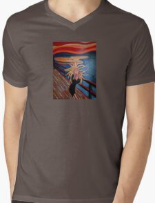 Bad Hair Day Mens V-Neck T-Shirt