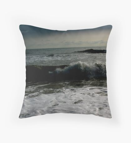 By the dark water... Throw Pillow