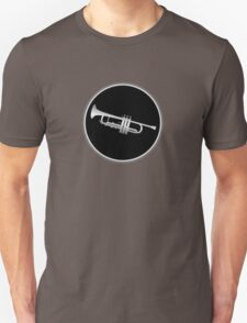 Trumpet Silver Sign T-Shirt