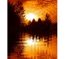 Fiery Morning Photographic Print