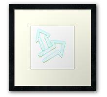 Glitch Quest quest symbol glow lem 01a treehousequest1 Framed Print