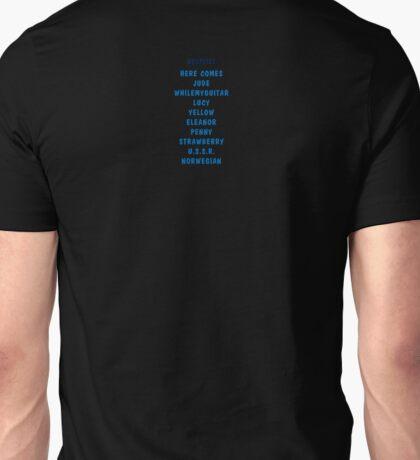 Beatlist Unisex T-Shirt