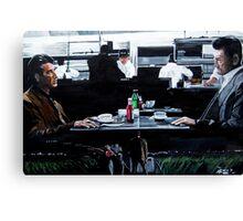 Heat Coffee Shop Canvas Print