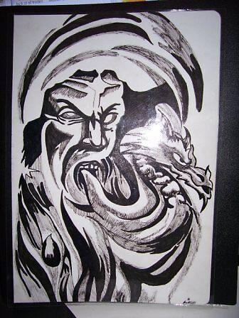 air dragon tattoo by gibbsy69