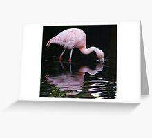 Mercury reflections Greeting Card