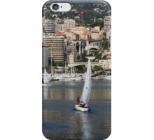 Monte Carlo Sailing - Monaco, French Riviera  iPhone Case/Skin