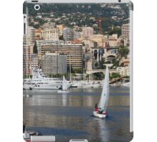 Monte Carlo Sailing - Monaco, French Riviera  iPad Case/Skin