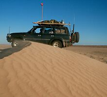 Simpson Desert - Rig Road  by Bill McRobb