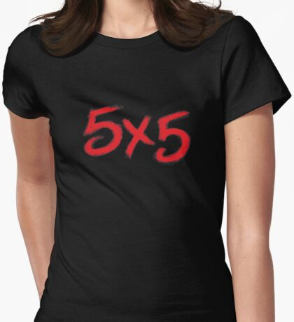 5X5 Womens Fitted T-Shirt
