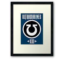 Ultramarines XIII - Warhammer Framed Print