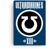 Ultramarines XIII - Warhammer Canvas Print