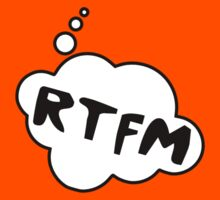 RTFM by Bubble-Tees.com by Bubble-Tees