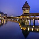 The Kapellbrücke- Lucerne, Switzerland by Hercules Milas