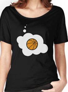 Basketball by Bubble-Tees.com Women's Relaxed Fit T-Shirt