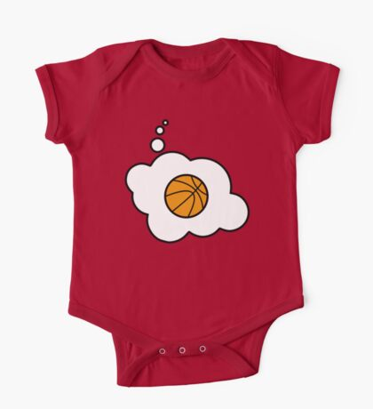 Basketball by Bubble-Tees.com One Piece - Short Sleeve