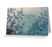 Stormy skies. Greeting Card
