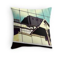 On the other side of the street Throw Pillow