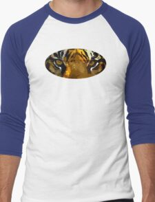 Tiger eyes Men's Baseball ¾ T-Shirt