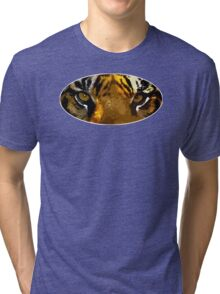 Tiger eyes Tri-blend T-Shirt