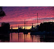 Of Yachts and Skylines Photographic Print