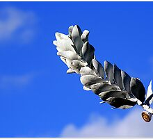 Tree Leaf like a Feather by Dors
