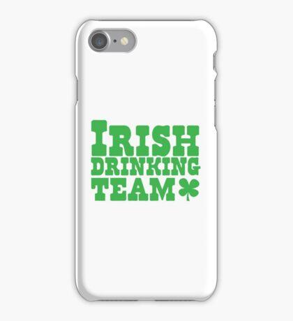 Irish drinking team iPhone Case/Skin