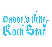 Daddy's little rock star by jazzydevil