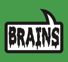 BRAINS by Bubble-Tees.com Kids Clothes