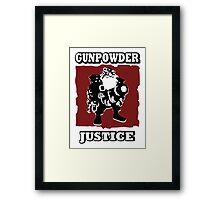 Sniper - GunPowder Justice Framed Print