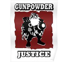Sniper - GunPowder Justice Poster