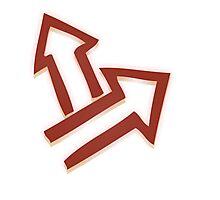 Glitch Quest quest symbol red lem 01a treehousequest1 Photographic Print
