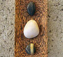 Zen Pebbles by Ye Liew