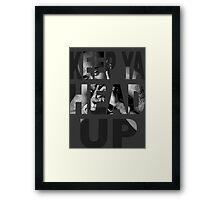 Tupac - Keep Ya Head Up Framed Print