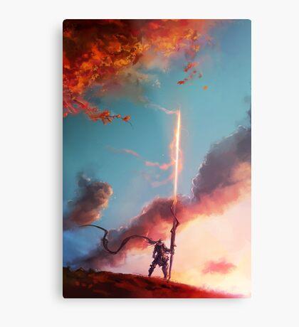 Autumn Lancer Metal Print