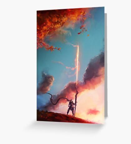 Autumn Lancer Greeting Card
