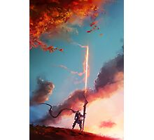 Autumn Lancer Photographic Print