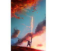 Autumn Lancer Photographic Print