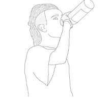 matt healy drawing by kyphose