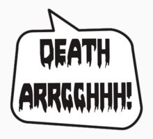 DEATH ARRGGHHH! by Bubble-Tees.com by Bubble-Tees