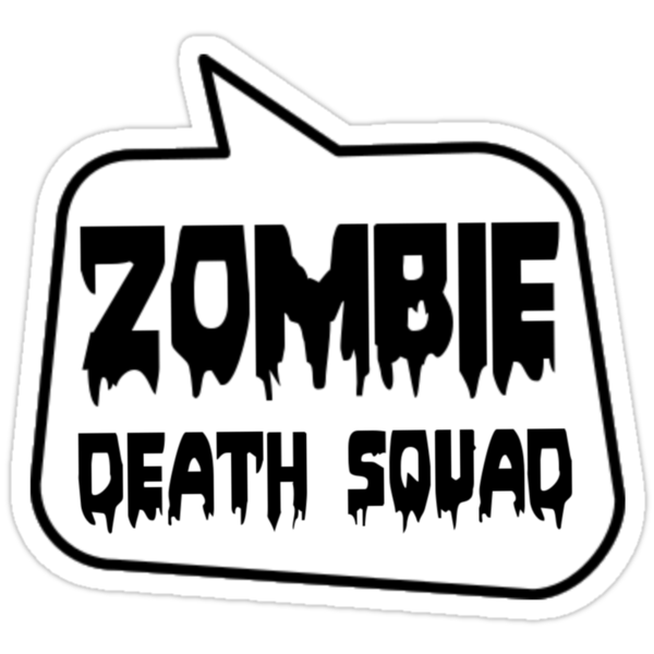 ZOMBIE DEATH SQUAD by Bubble-Tees.com by Bubble-Tees