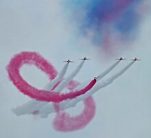 The Red Arrows and the Amazing  Coincidence by Yampimon