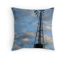 windmill I Throw Pillow