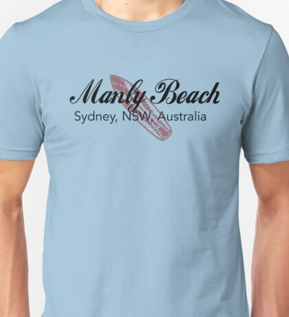 Surf Manly Beach Unisex T-Shirt