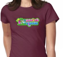 Pocket Clouds brand Womens Fitted T-Shirt